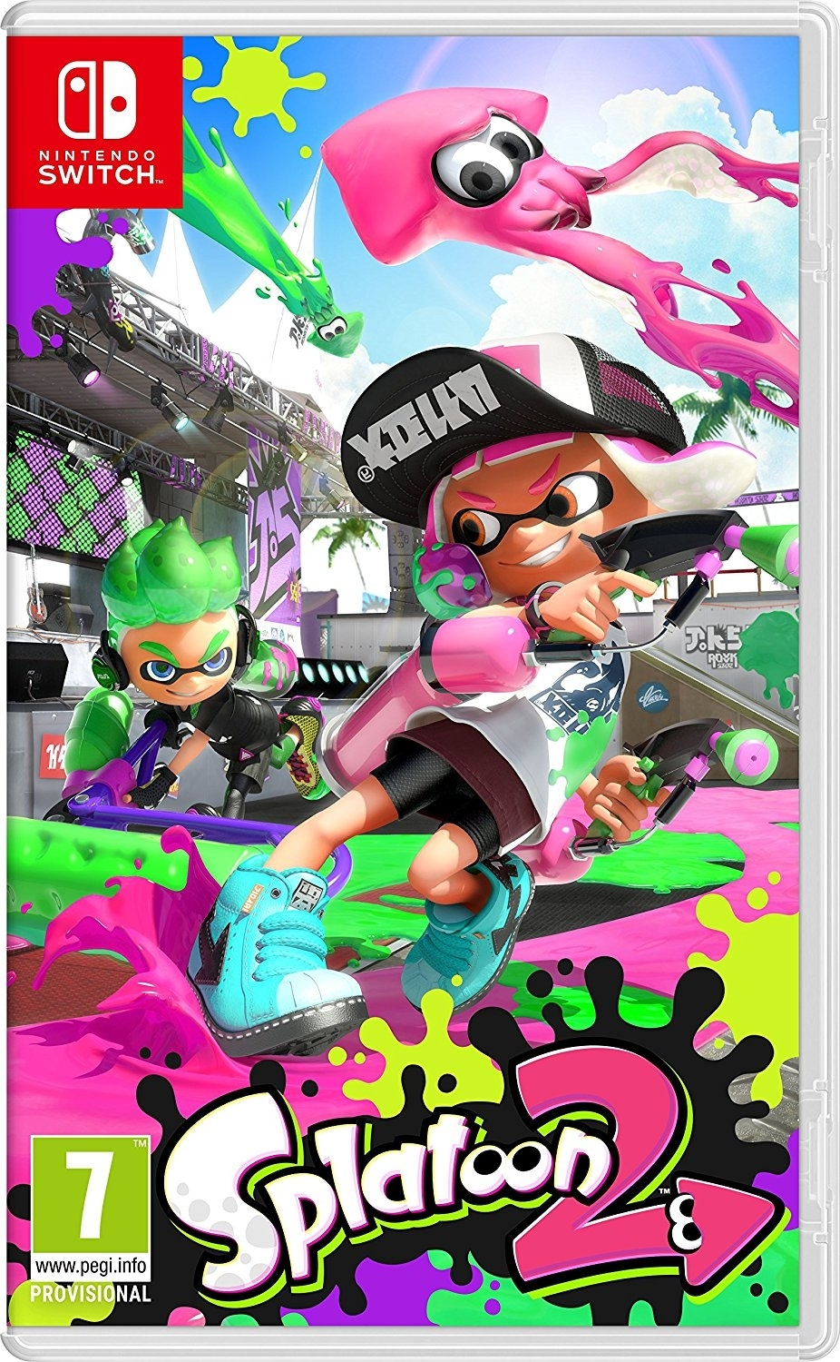 Splatoon 2 Nintendo Switch / (BLACK FRIDAY)